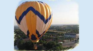 balade en montgolfière