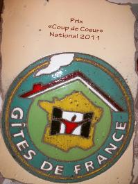 Prix Coup de Coeur National 2011